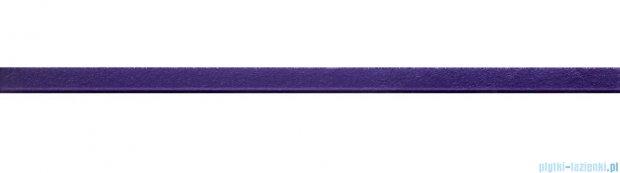 Tubądzin glass violet 4 listwa ścienna 2,5x44,8