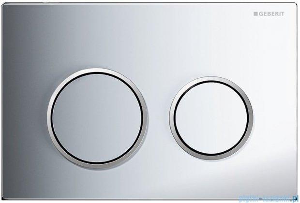 Geberit Omega20 przycisk spłukujący chrom błyszczący/matowy/błyszczący 115.085.KH.1