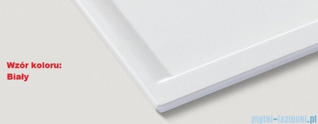 Blanco Zenar 45 S-F Zlewozmywak Silgranit PuraDur komora prawa kolor: biały z kor. aut. bez akcesoriów 519335