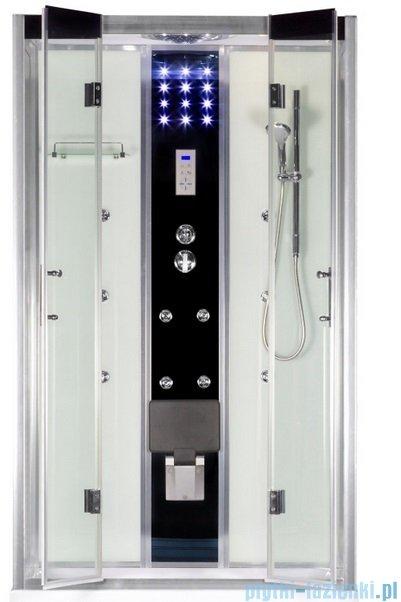 Novoterm Tuluza kabina hydromasażowa z brodzikiem 121x81x217cm