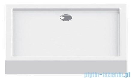 New Trendy Columbus brodzik prostokątny 120x80x14cm B-0333
