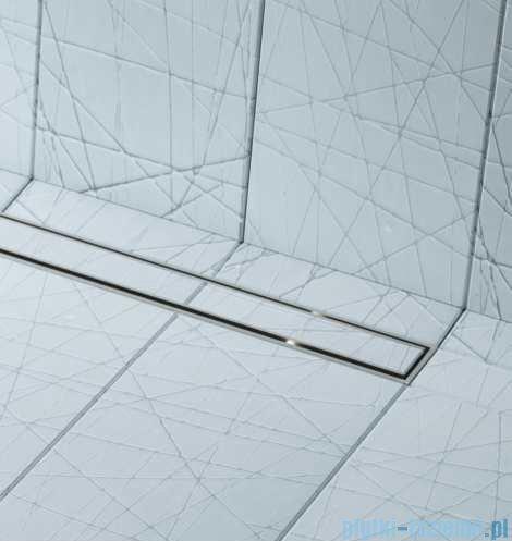 Schedpol brodzik posadzkowy podpłytkowy ruszt Slim Lux Plate 80x80x5cm 10.101/OLPL