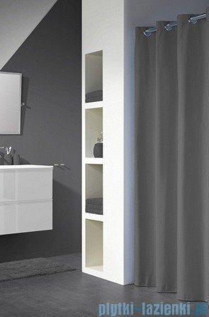 Sealskin Coloris antracyt zasłona prysznicowa tekstylna 180x200cm 232211314