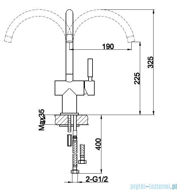 Kohlman Roxin bateria kuchenna QB140R