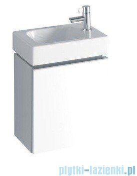 Keramag Icon Xs Szafka wisząca pod umywalkowa prawa biały połysk 840037