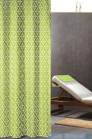 Sealskin Floreale Lime zasłona prysznicowa tekstylna 180x200cm 235211337