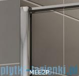 Sanswiss Melia MEE2P Kabina prostokątna 120x100cm przejrzyste MEE2PG1201007/MEE2PD1001007