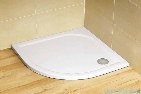 Radaway Eos PDD kabina prysznicowa 90x90 szkło intimato + brodzik Delos A + syfon 37603-01-12N