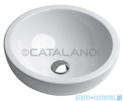 Catalano Sfera 45 umywalka nablatowa 45x45 biała 145AC00