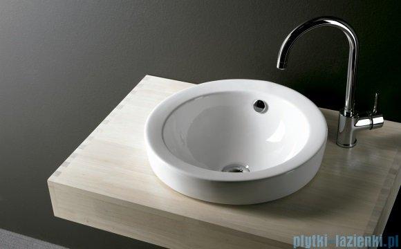 Bathco Breccia umywalka wpuszczana 46x46cm 0007