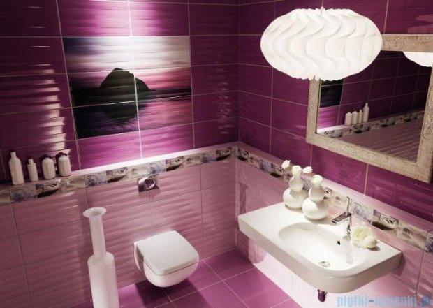 Tubądzin Maxima purple płytka podłogowa 45x45