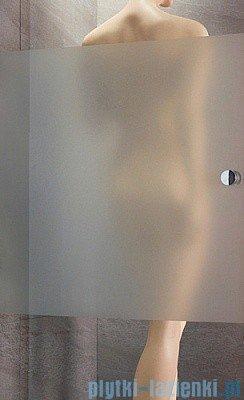 Radaway Eos DWB Drzwi wnękowe 80 lewe szkło intimato + brodzik Delos C + syfon 37813-01-12NL