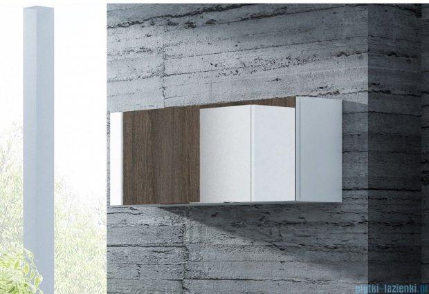 Antado Susanne szafka wisząca z lustrem 95x22cm biała połysk AS-123-WS
