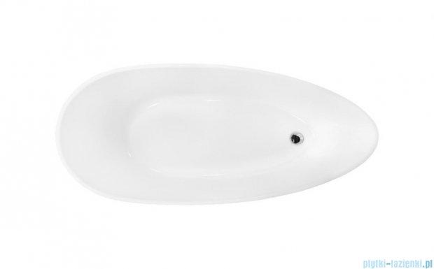 Besco Goya 160x70cm wanna wolnostojąca + odpływ klik-klak #WMD-160-G