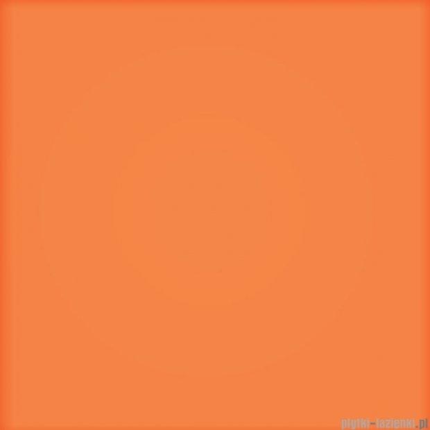 Tubądzin Pastel pomarańczowy mat płytka ścienna 20x20