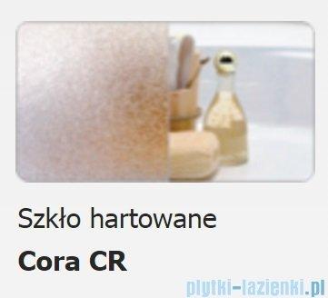 Sanplast kabina narożna półokrągła KP4/TX5b-90 90x90x190 cm szkło Cora 600-271-0262-38-371
