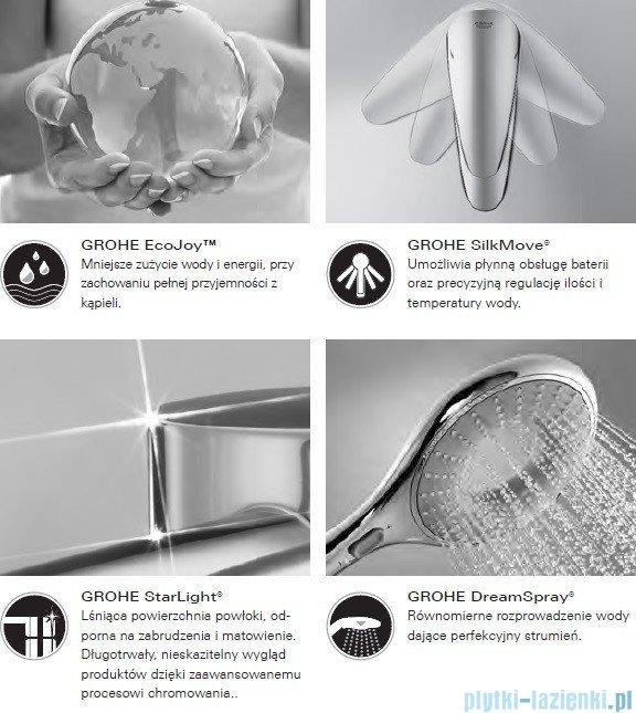 Grohe Grandera™ Stick prysznic ręczny jednostrumieniowy chrom 26037000