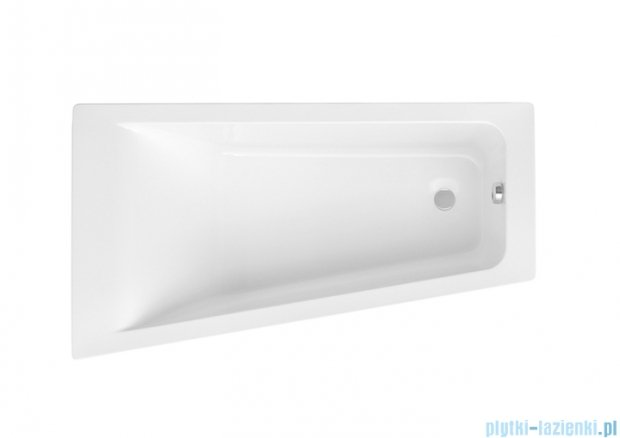 Roca Easy wanna 150x80cm lewa z hydromasażem Smart WaterAir Plus Opcja A24T286000
