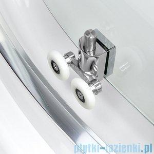 New Trendy Varia kabina prysznicowa asymetryczna 100x80x185cm szkło grafit K-0131