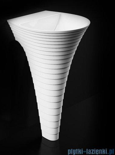 Marmorin Cascada umywalka przyścienna bez otworu 46x48 biała P724047020010
