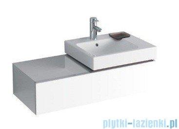 Keramag Icon Szafka wisząca pod umywalkowa 89cm prawa biały połysk 840590