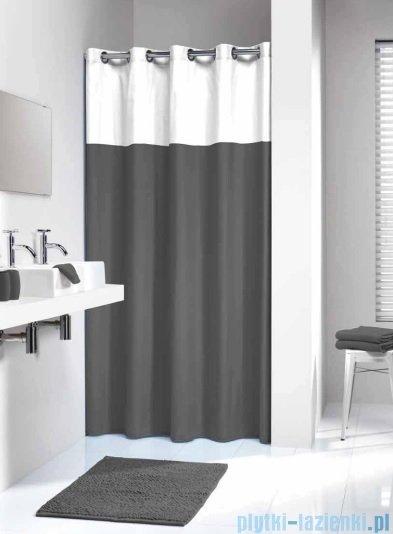 Sealskin Double grey zasłona prysznicowa tekstylna 180x200cm 233521314