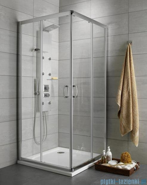 Radaway Premium Plus C Kabina kwadratowa 80x80 szkło satinato 30463-01-02N