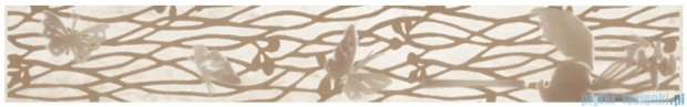 Kwadro Frezja beige listwa 4,8x33,3