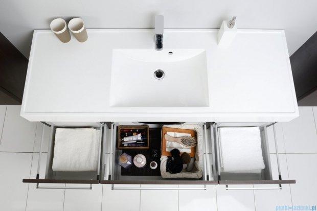 Antado Variete szafka z umywalką, wisząca 140 wenge mat 2xFDM-442/4-77 + FDM-442/6-77 + UNAM-1404C