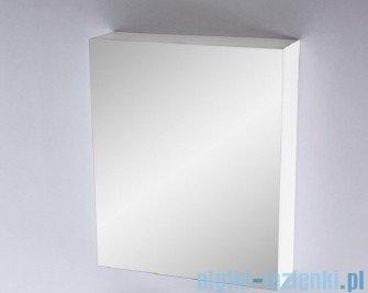 Antado Variete Szafka z lustrem 60x15x75 biały połysk FM-116CH