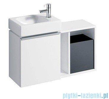 Keramag Icon Xs Szafka wisząca boczna biały połysk 840137