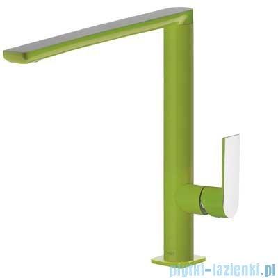 Tres Loft Colors Bateria umywalkowa z korkiem automatycznym kolor zielony 200.205.03.VE.D