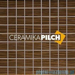 Mozaika ścienna Pilch Zebrano 2 brąz 30x30