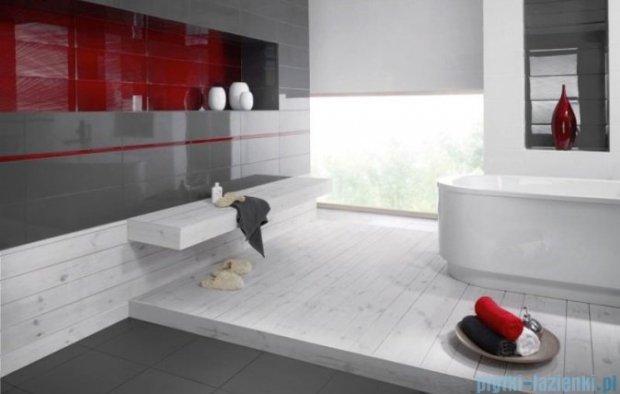 Paradyż Yoshioka grigio inserto szklane 20x60