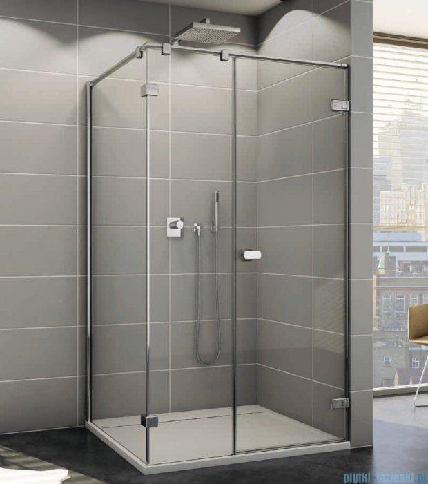 Sanswiss Melia ME31P Kabina prysznicowa prawa 140x80cm przejrzyste ME31PD1401007/MET3PG0801007