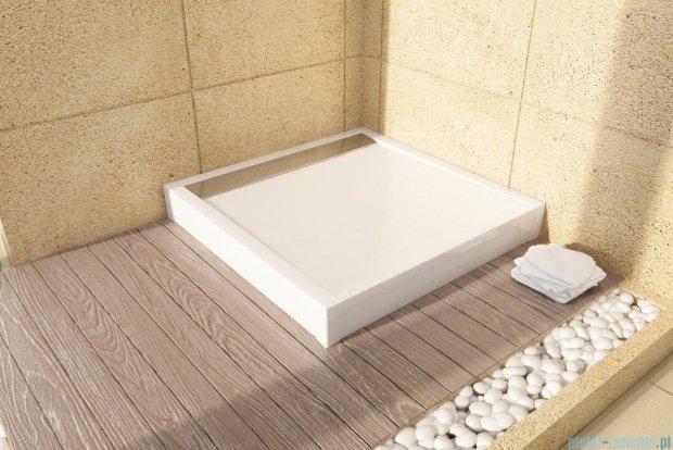 SanSwiss Ila WIQ Brodzik kwadratowy 100x100cm kolor biały/biały WIQ1000404