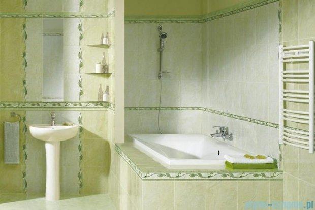 Kwadro Yasmina beige listwa 3,7x25