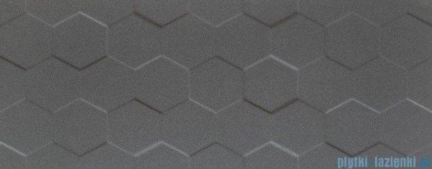 Tubądzin Elementary graphite hex STR płytka ścienna 29,8x74,8