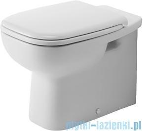 Duravit D-Code miska toaletowa stojąca przyścienna lejowa do niezależnego dopływu wody 350x480 mm 211509 00 002