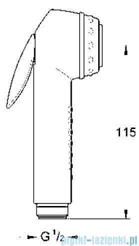 Grohe prysznic ręczny z przyciskiem uruchamiającym  28020F00