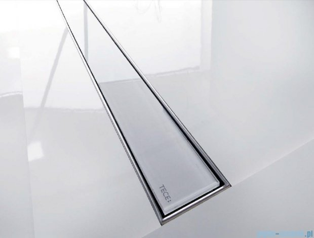 Tece Ruszt prosty ze szkła Tecedrainline 70cm szkło czarne 6.007.92