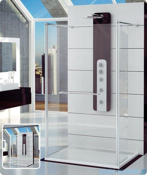 SanSwiss Fun Fut2 Ścianka jednoczęściowa 90-160cm profil połysk FUT2SM15007