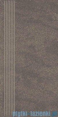 Paradyż Duroteq brown stopnica 29,8x59,8