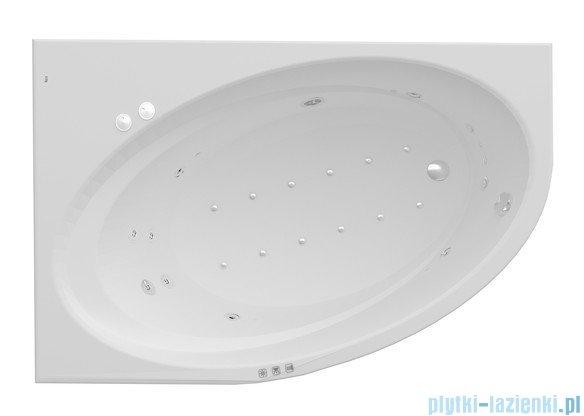 Roca Orbita wanna 150x100cm lewa z hydromasażem Smart WaterAir Plus A24T205000
