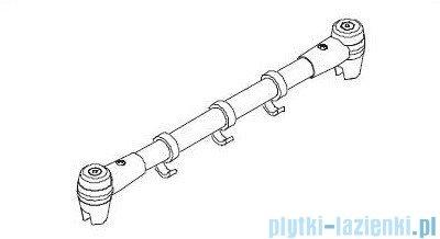 Kermi Atea Stabilizator Multimax biały 70cm ZDMMTTFAT0702K