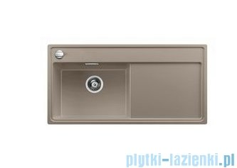 Blanco Zenar XL 6 S  Zlewozmywak Silgranit PuraDur komora lewa kolor: tartufo z kor. aut. i jesionową deską do krojenia 519248
