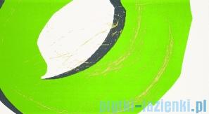 Dekor ścienny Tubądzin Colour Pop Green 32,7x59,3