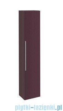 Keramag Icon Szafka wisząca boczna wysoka 180cm burgund połysk 840001