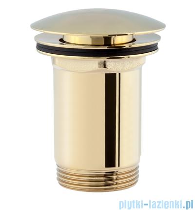 Omnires korek klik-klak do syfonu umywalkowego złoto A706PVD