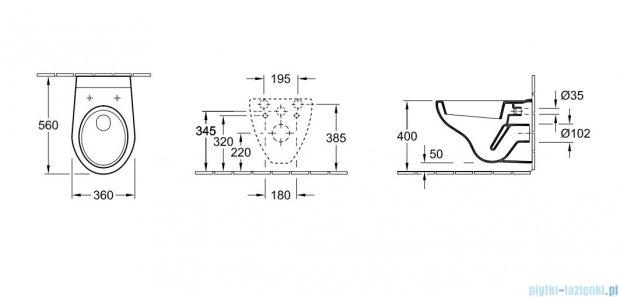 Villeroy&Boch Omnia architectura Combi-Pack GreenGain    5638H001